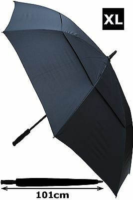Collar And Cuffs London - Extra Strong Windproof Automatic Golf Umbrella Rrp £50