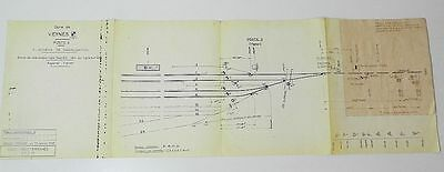 ** Rare : Interessants Documents Sncf - Gare De Veynes 05 Hautes-Alpes - 1969-75