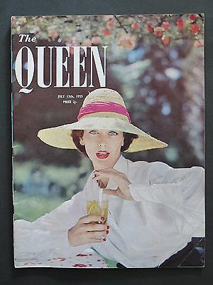 The Queen Magazine July 13 1955 Vintage Adverts Fashion Style