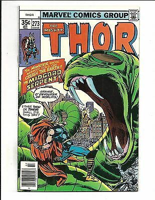 Thor # 273 (Cents, July 1978), Vf