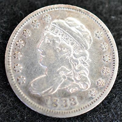 1833 Capped Bust Half Dime XF