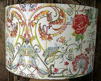Hippy floral lamp shade lampshade shabby ethnic festival shabby hippy floral lampshade festival light shadeshabby chic floral free gift mozeypictures Images