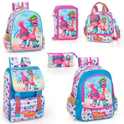 Trolls Poppy Rucksack Backpack Travel School Holiday Cooper Lunch Bag PREMIUM
