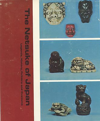 Collectible Japanese Carved Netsuke - Makers Types Materials / Scarce Book