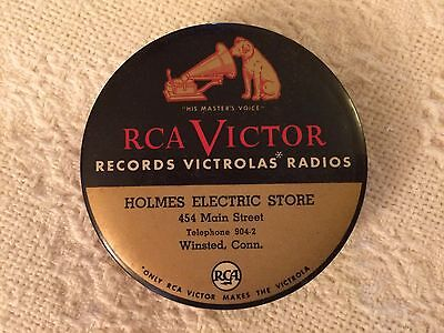 Vintage RCA VICTOR Victrola Record Cleaner- Holmes Electric Winsted, Connecticut