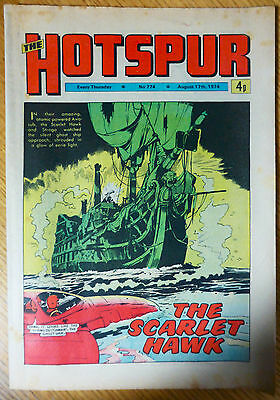 The Hotspur (UK Comic) - Issue #774 (17th August 1974)