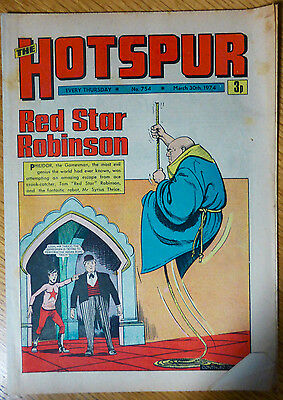 The Hotspur (UK Comic) - Issue #754 (30th March 1974)