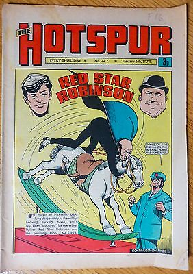 The Hotspur (UK Comic) - Issue #742 (5th January 1974)