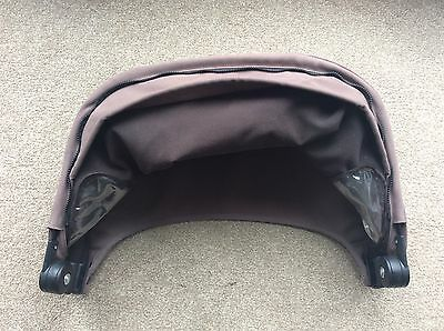 Genuine QUINNY  Buzz 3 / 4 HOOD / canopy in Brown for seat unit