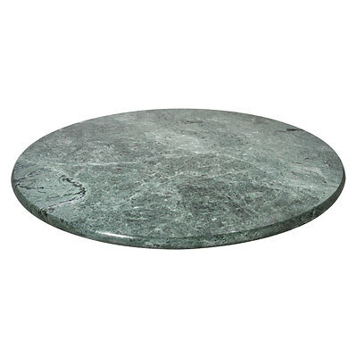 New Green Marble Lazy Susan Swivel Turntable Kitchen Dining Table Cake Stand
