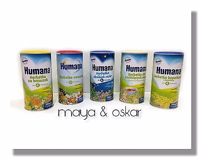 HUMANA HIPP BABY INSTANT TEA DRINK Fennel Natal Fruit Calm Stomach Good Sleep