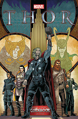 Thor Marvel Cinematic Guidebook Universe #1 Marvel Comics 2015 NM