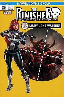 The Punisher #13 Mary Jane Variant Marvel Comics