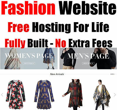 Website - Fashion & Jewelry - Online Internet Business - For Sale - Fully Built