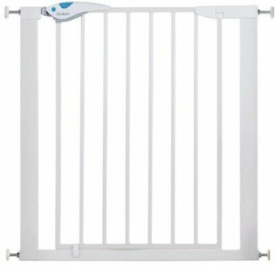 Lindam 051298 Easy Fit Plus Deluxe Pressure Fit Safety Gate - 76-82 Cm, White