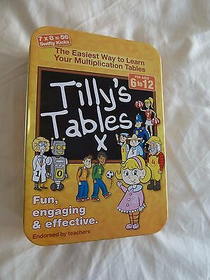 Tilly's Tables X Maths Times Learning Aid Multiplication Teaching RRP $24.95