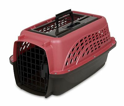 Petmate 21227 Two Door Top Load 19 Inch Pet Kennel, Pearl Honey Rose and...