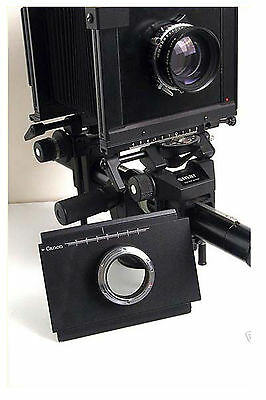 Moveable Adapter For Canon to Linhof Sinar 4x5 Camera Photograph