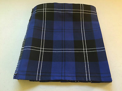 Ramsay Blue Tartan Baby Kilt 0-3 m to 2-3 years (Waist & Length Sizes Given)