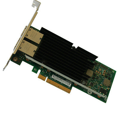 X540-T2 Intel chipsets 10G dual RJ45 ports Ethernet Converged Network Adapter
