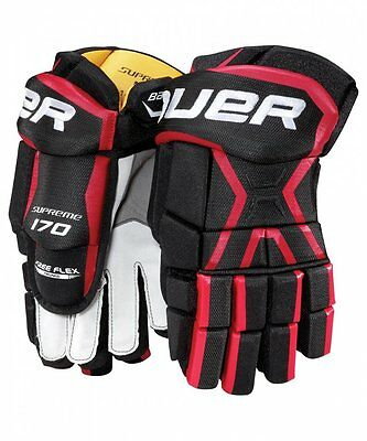 Bauer Supreme 170 Ice Hockey Gloves Size Senior Hokejam.lv