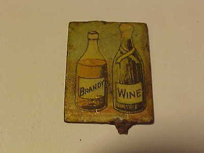 Tobacco Tag-- BOTTLE PHOTOS OF BRANDY AND WINE