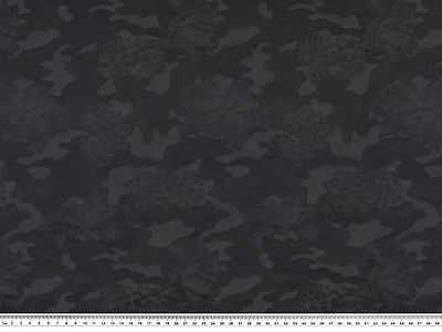 Printed Polyamide Slovenian Army Military Camouflage Material 90cm Wide