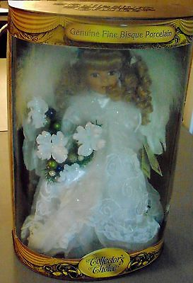 Collector's Choice Authentic Genuine Fine Bisque Porcelain Angel Doll