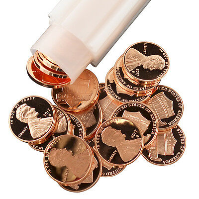 2017 Lincoln Shield Cent San Francisco Mint Proof Roll of 50