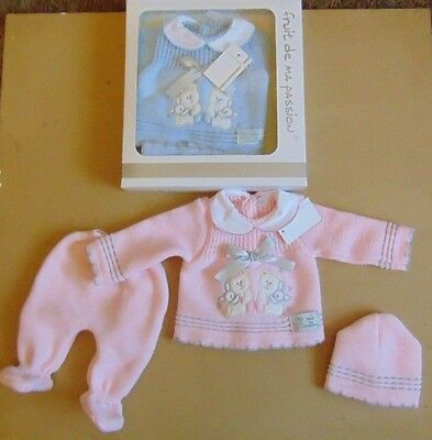 baby 3pc spanish style knitted set