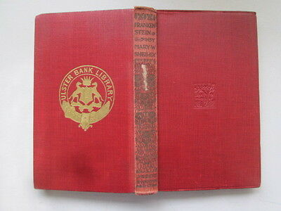 Acceptable - Frankenstein - Shelley, M W 1927-01-01 1922 reprint. Ex-library wit