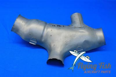 Radial Engine Stainless Steel Exhaust Shroud Assy P/N 12-870-1 NEW (19974)