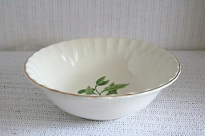W S George Pottery GREEN VALLEY B-8760 Bolero Orange Blossom Round Serving Bowl