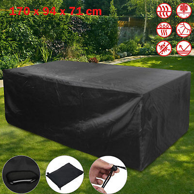 Furniture Cover Weather Garden Outdoor Patio Rattan Table Set Sun Protection