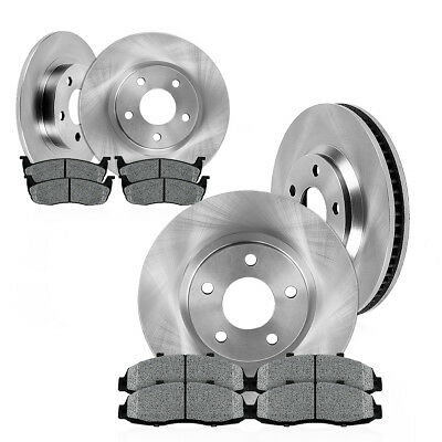 Front 276 mm and Rear 262 mm OE Brake Rotors Metallic Pads CALIBER LANCER DE ES