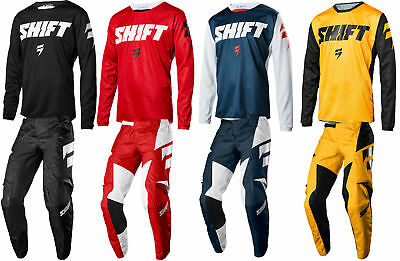 Shift Racing Mens White Label Ninety Seven Dirt Bike Jersey & Pants Combo MX ATV