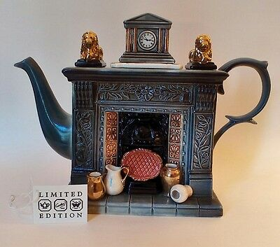 Cardew Classical Fireplace Teapot, Lmted Edition, Signed, Excellent Condition!
