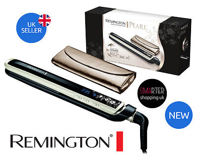 Genuine Remington S9500 Pearl Professional Hair Straightener Advanced Ceramic