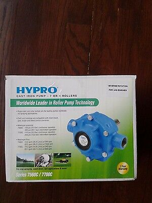 HYPRO Cast Iron Pump 7-8 Rollers Series 7560C / 7700C