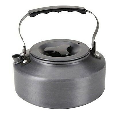 1.1L Kettle Picnic Camping Cookware Teapot Water Coffee Pot Aluminum Outdoor WP