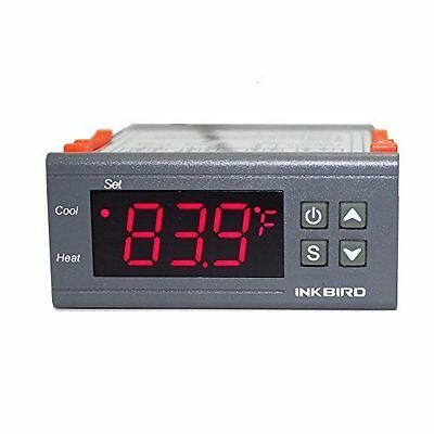 Inkbird ITC-1000 temperature controller digital thermostat 220V with sensor °C/F