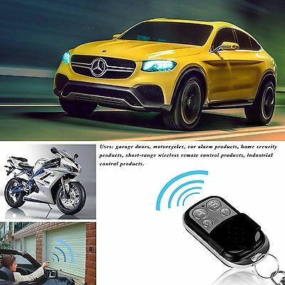 433mhz Remote Control Key Fob Electric Wireless Cloning Gate Garage Door WP