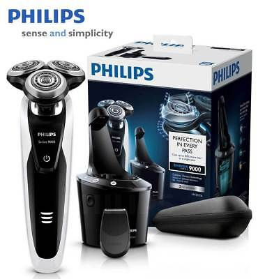 Philips 9000 Series Shaver, Wet and Dry Electric Shaver + SmartClean S9111/26