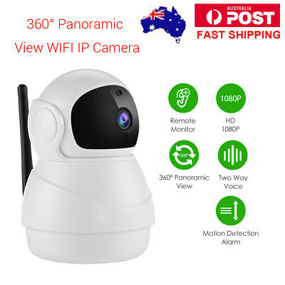 HD 1080P 2.0MP WiFi Security IR Baby Monitor IP Camera For Home Store Pet Local
