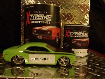 Auto Paint Urethane Lime Green Single Stage... Free Shipping