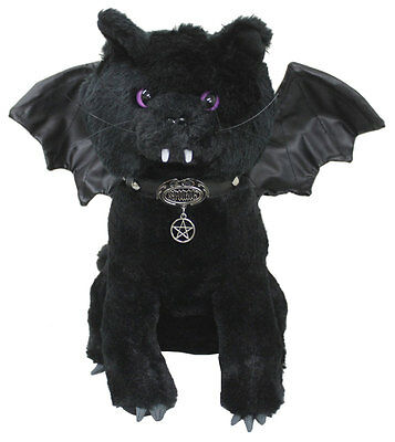 BAT CAT - Winged Collectable Soft Plush Toy 12 inch Cute/Vampire/Gift/Halloween
