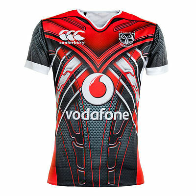 Authentic Canterbury New Zealand Warriors Men's U20s Training Jersey