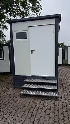 WC Container / Toilette / WC Box / Kabine / Sanitärcontainer- Neu,sofort KWCT2X2