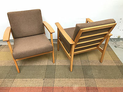 2 Vintage Easy Chairs Buche