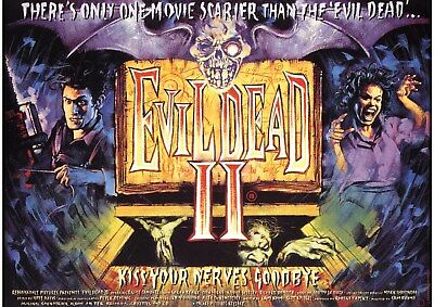 Evil Dead 2 - Bruce Campbell - A4 Laminated Mini Poster
